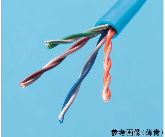 LAN用メタルケーブル 赤  SKLAN-CAT5E 0.5X4p