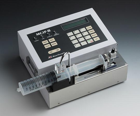 高機能高圧卓上シリンジポンプ  MCIP-III