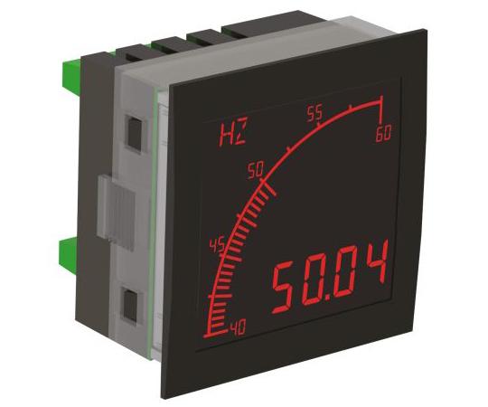 デジタルパネルメータ LCD 68 x 68 mm APMシリーズ  APM-FREQ-APN