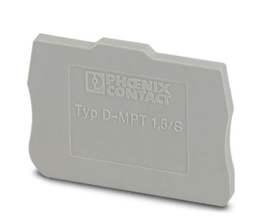 DINレール取付用端子アクセサリ エンドカバー D-MPTシリーズ  3248120