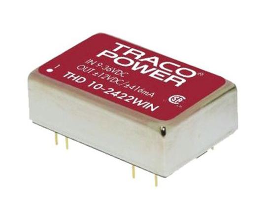 絶縁DC-DCコンバータ Vout:5.1V dc 9 → 36 V dc 10W 24 V dc  THD 10-2411WIN