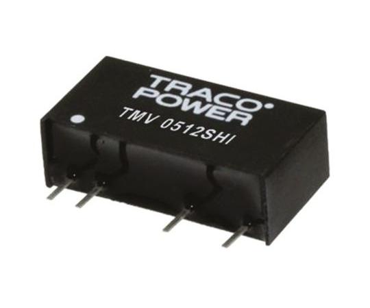 絶縁DC-DCコンバータ Vout:5V dc 13.5 → 16.5 V dc 1W  TMV 1505SHI