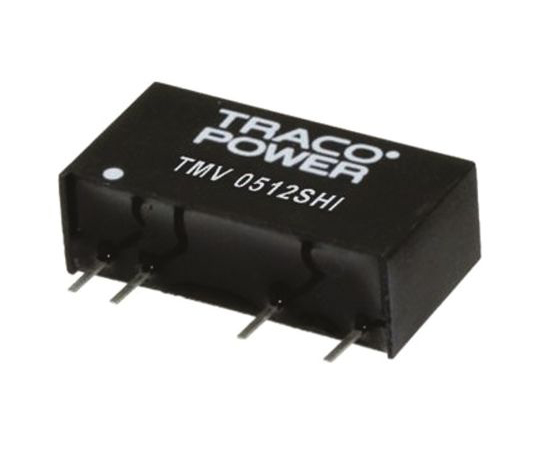 絶縁DC-DCコンバータ Vout:±12V dc 13.5 → 16.5 V dc 1W  TMV 1512DHI