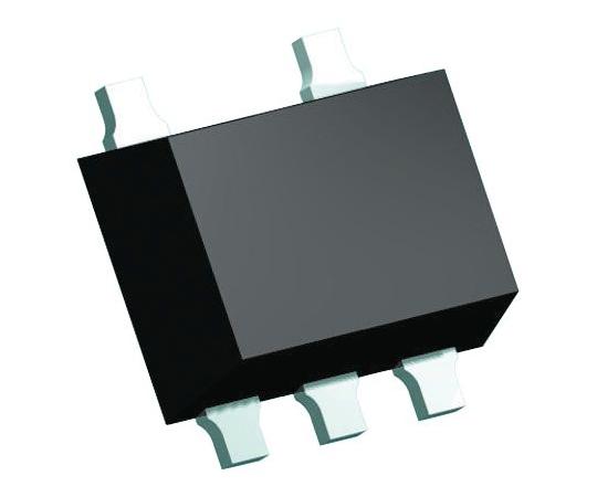 2チャンネル 単方向 EMIフィルタ& ESDプロテクタ 0.12W 5-Pin SOT-665  IP4256CZ5-W,115