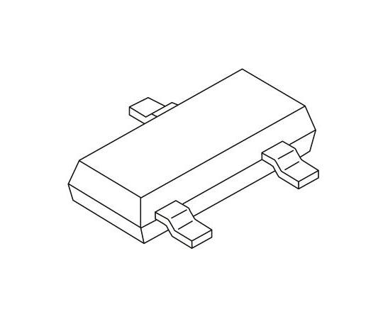 2チャンネル 単方向 ESD保護ダイオード 40W 28V 3-Pin SOT-23  MMBZ20VAL,215