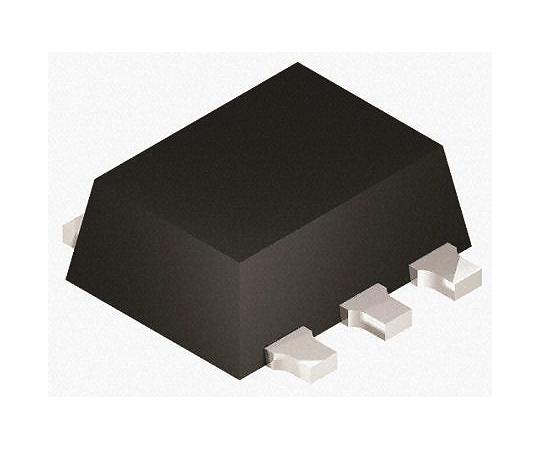 N Pチャンネル MOSFET 170 mA 330 mA 表面実装 パッケージSOT-666 6 ピン  NX1029X,115