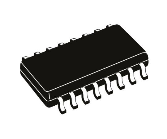 カウンタ IC 74HCTシリーズ 4ステージ カウンター 双方向 16-Pin SOIC 1  74HCT193D,652