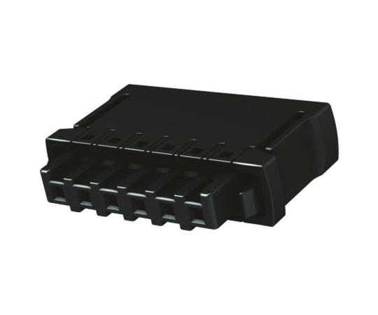 基板用端子台 Har-Flexiconシリーズ 2.54mmピッチ 1列 6極 黒  14310613101000