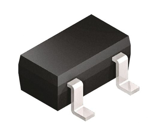 NXP NPN 抵抗内蔵トランジスタ 50 V 100 mA 2.2 kΩ 3-Pin SOT-23  PDTC123YT,215