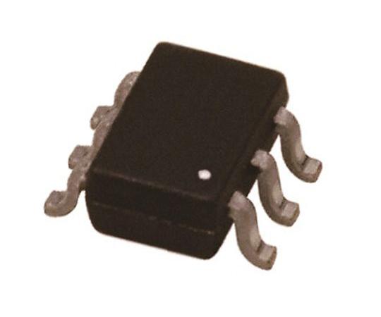 デュアル NPN + PNP トランジスタ 表面実装 45 V 100mA 6-Pin SOT-363 (SC-88)  PMP5201Y,115