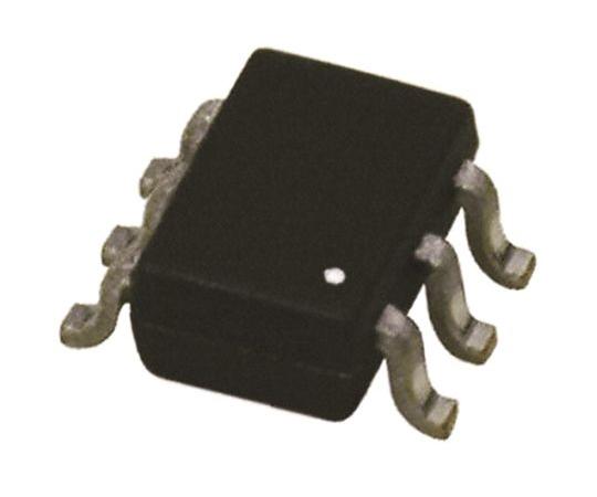 デュアル PNP トランジスタ 表面実装 65 V 100mA 6-Pin SOT-363 (SC-88)  BC856S