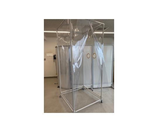 飛沫防止ボックス型(PVCシートタイプ)