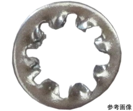 内歯ワッシャ 4mm 25個入  3F582
