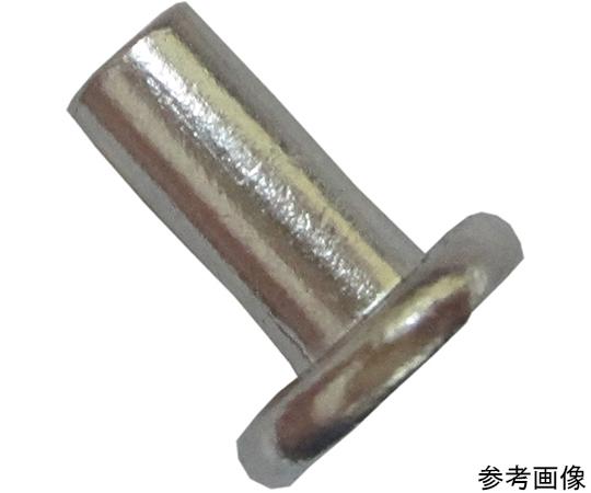 アルミ平頭カシメ鋲 3×8mm 40個入  4F023