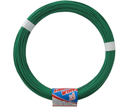 カラー針金 #16 グリーン 99m  7F656