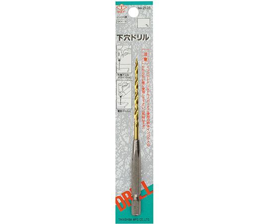 [取扱停止]ダイヤティー チタンコーディング六角軸下穴ドリル 3.5mm  2128-35