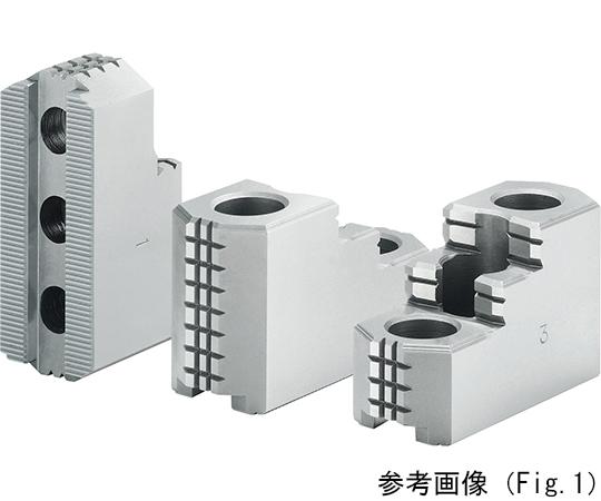 北川鉄工所 油圧・エアチャック用 HJ 硬爪 HJ12Aシリーズ