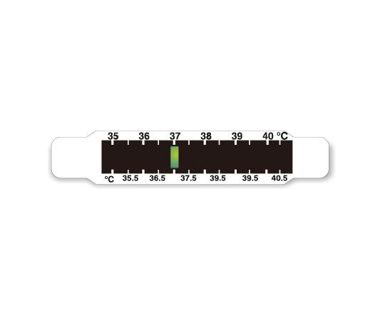 携帯用体温表示ラベル サーモライン 2枚入  FH12-2