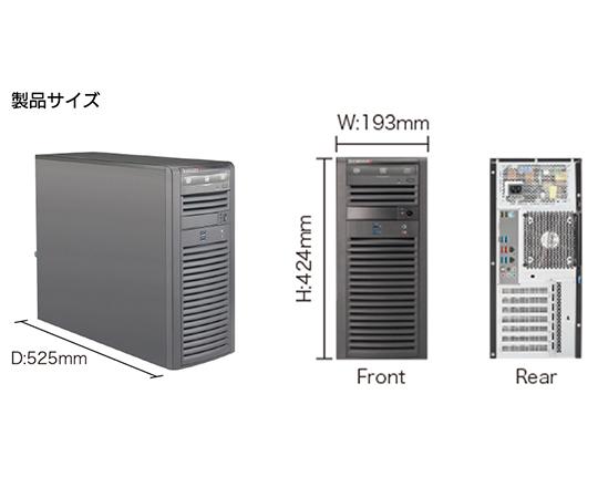 ナノ材料解析ソフトウェアに対応した統合GUI「Advance/NanoLabo Base版」搭載ワークステーション(教育機関向け) HPC3000-XCL108TS-A-A-NLS