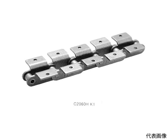 資材 アタッチ付チェン3M(2  40ALLK-1T
