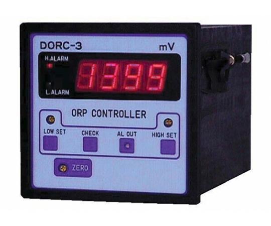 パネル型 ORP指示調節計(DIN96小型デジタル) DORC-3シリーズ