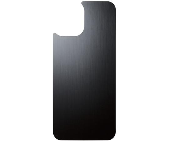 [取扱停止]iPhone 12/iPhone 12 Pro用背面用ガラスフィルム アルミ調 ヘアラインデザイン PM-A20シリーズ