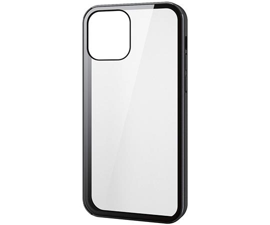 [取扱停止]iPhone 12/iPhone 12 Pro用ハイブリッドケース 360度保護 ガラス メタリック PM-A20BHV360シリーズ