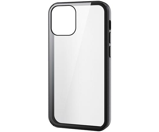 [取扱停止]iPhone 12 mini用ハイブリッドケース 360度保護 ガラス メタリック PM-A20AHV360シリーズ