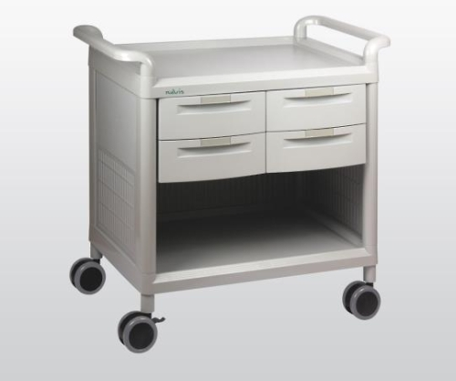 Mobile Store Cart Shallow Type 4 Pieces MS24A