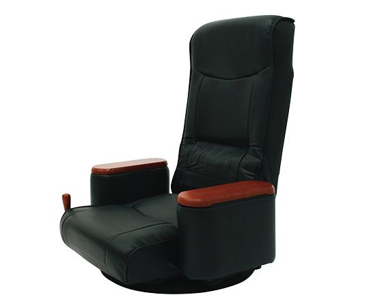 [取扱停止]ボックス肘付き回転座椅子