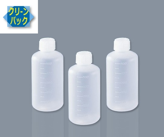 SCCアイボーイPE細口瓶500mL10本入 (純水洗浄処理済み)