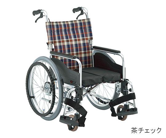 自動ブレーキ装置付車いす(アルミ製自走式) AR-511BTシリーズ