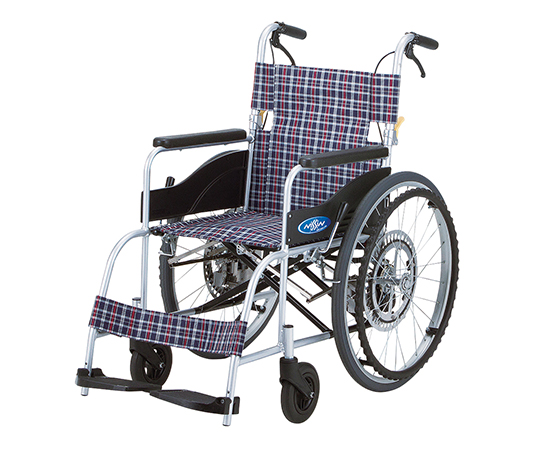 ブレーキ車椅子(アルミ製)