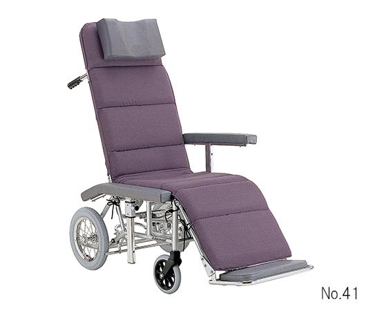 フルリクライニング車椅子(アルミ製)