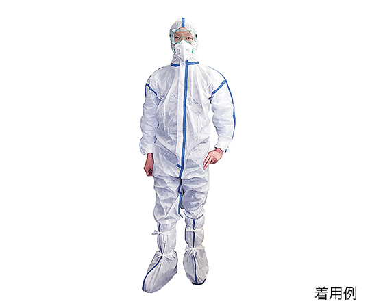 感染症対策防護服 4点セット 1式