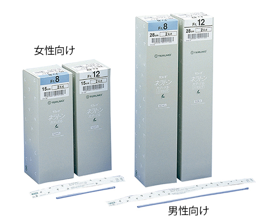 (分割)ネラトンカテーテル (自己導尿タイプ) 男性向け 8Fr(Φ2.7mm) 1パック(25本入)