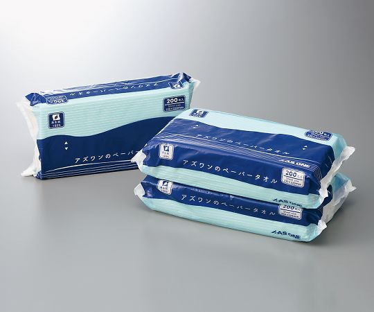 アズワンのペーパータオル 1ケース(200枚/袋×30袋入)