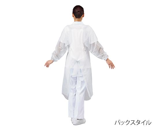 プロシェアエプロン(袖 ゴム付) 白 30枚入