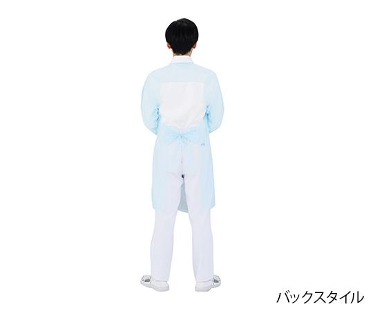 7-6558-02 [受注停止]フジポリエプロン 袖付 L  [SHOBIDO Co., Ltd.]