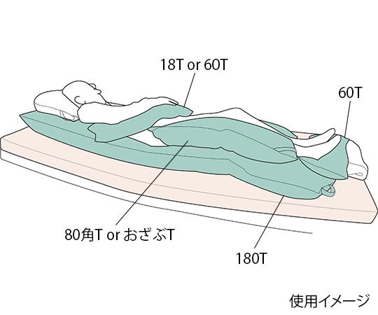 ポジクッションT 耐熱タイプ 80角T
