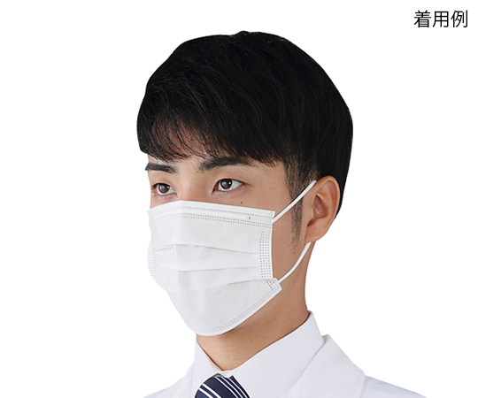 プロシェア・カラフルサージカルマスク ホワイト 50枚入