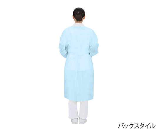 [受注停止]プロシェア・アイソレーションガウン(少量パック) 10枚パック ブルー