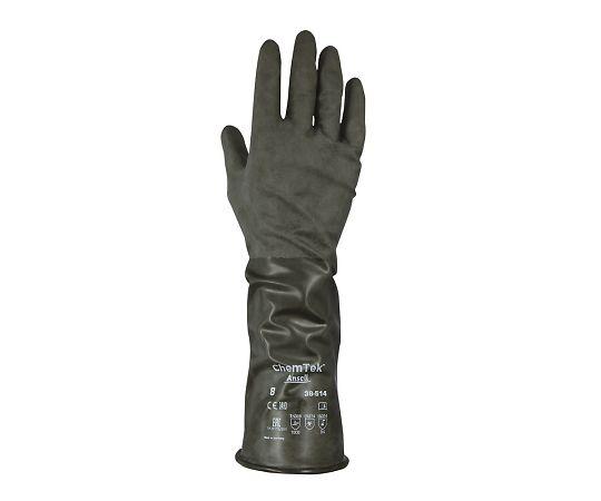 化学防護手袋(ブチルゴム) 38-514シリーズ