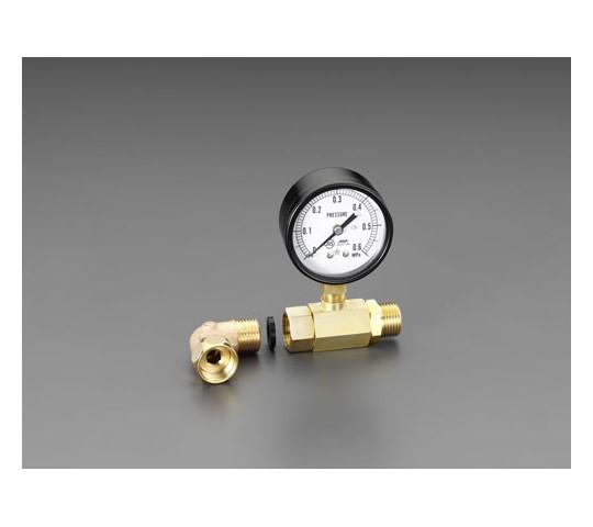 """水圧テストゲージ G1/2""""×G1/2"""" EA115F-3"""