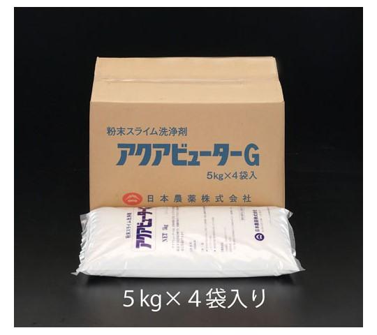 [取扱停止]20kg水処理剤(アクアビュ-タG/5kg×4個) EA119-18
