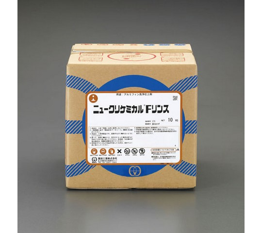 [取扱停止]10kgアルミフィン用リンス(ニュークリケミカルFリンス)