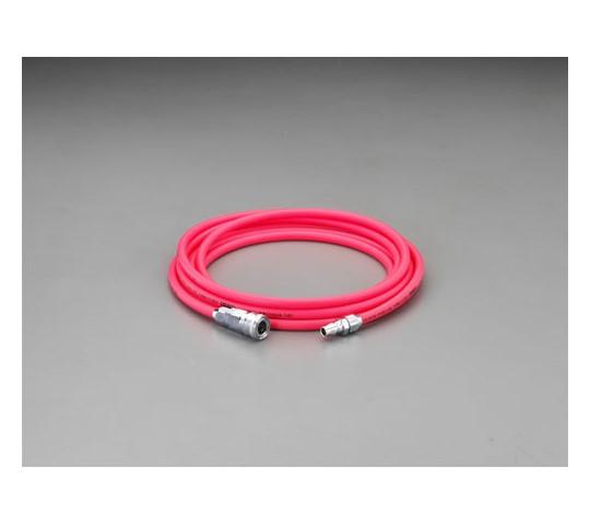 エアーホース(カプラー付・PVC) 8.5mm×12.5mm 5m