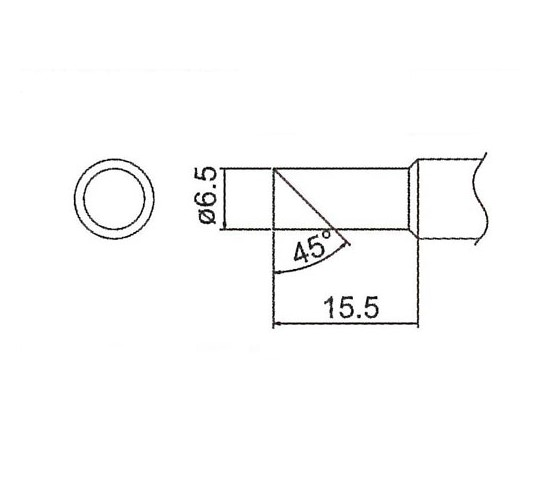 直径こて先(EAHD-用) EA304HDシリーズ