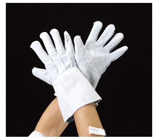 手袋・熔接用(牛革) 350mm [フリー]