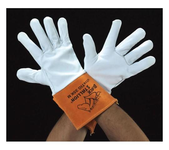 [取扱停止]手袋(熔接用・山羊革・牛革)